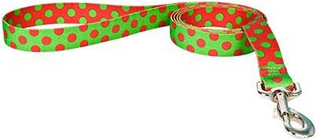 Yellow Dog Design  Floral Lead 1-Inch by 60-Inch