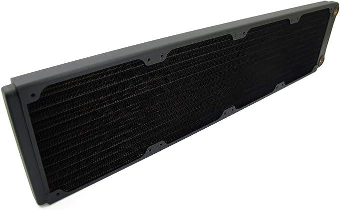 Quad Fan 120mm x 4 XSPC TX480 Ultra Thin Radiator Black