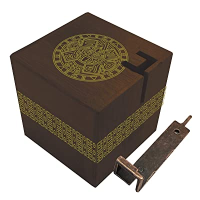 True Genius Aztec Passage Hidden Corridor Puzzle Box: Toys & Games