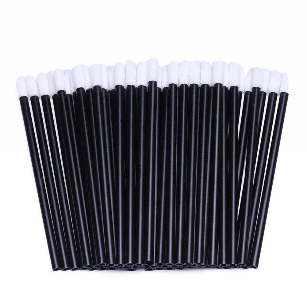 XZEN Disposable Disposable Lip Brushes Lipstick Gloss Wands Applicator Makeup Tool Kits Black (10000pcs) by XZEN