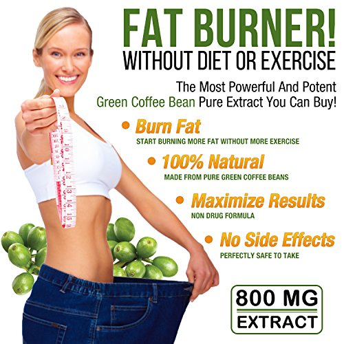 Premium Green Coffee Bean Extract For Weight Loss, Highest ...