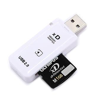 Movoja® [USB 2.0 lector de tarjetas de memoria Lector de tarjetas All-in