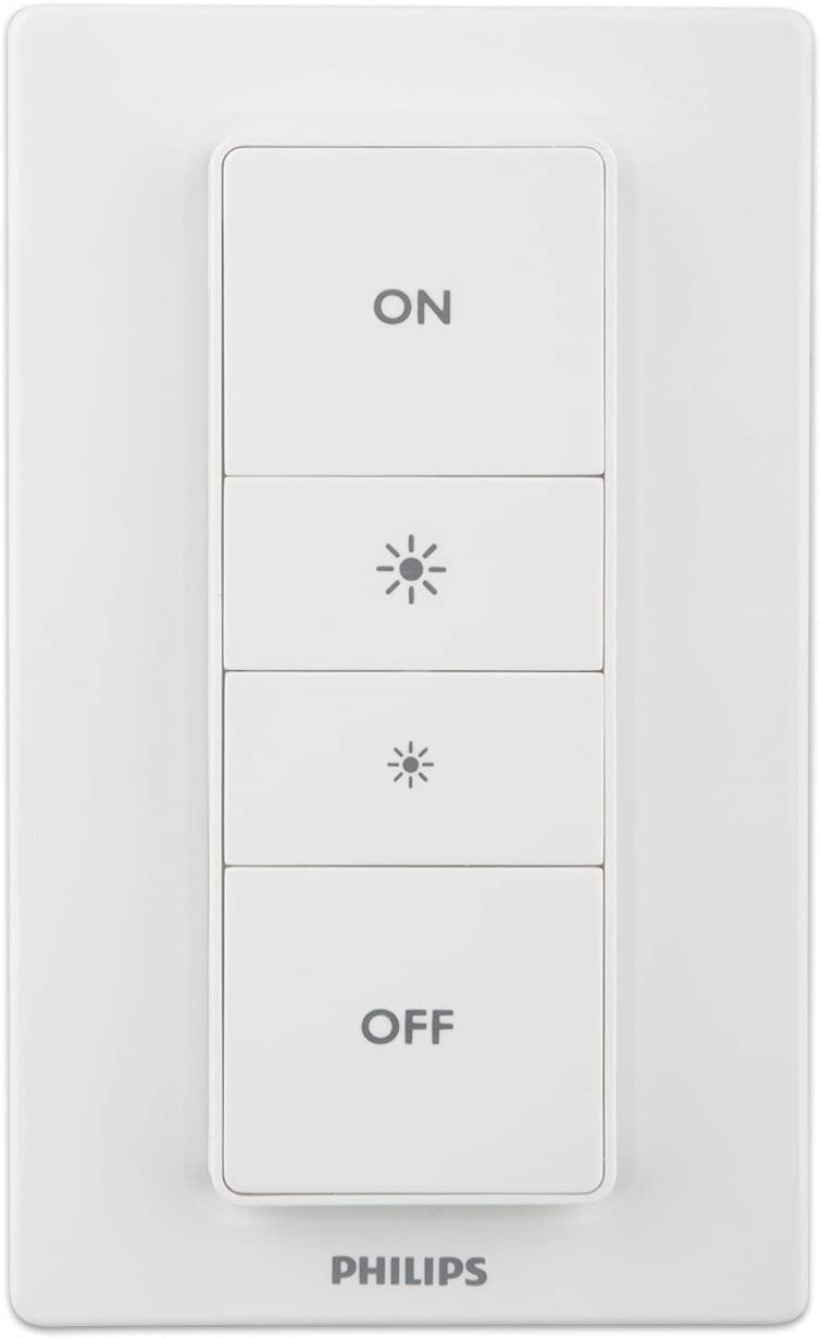 Philips Hue Dimmer Switch Smart Remote  LED Wireless Remote Control