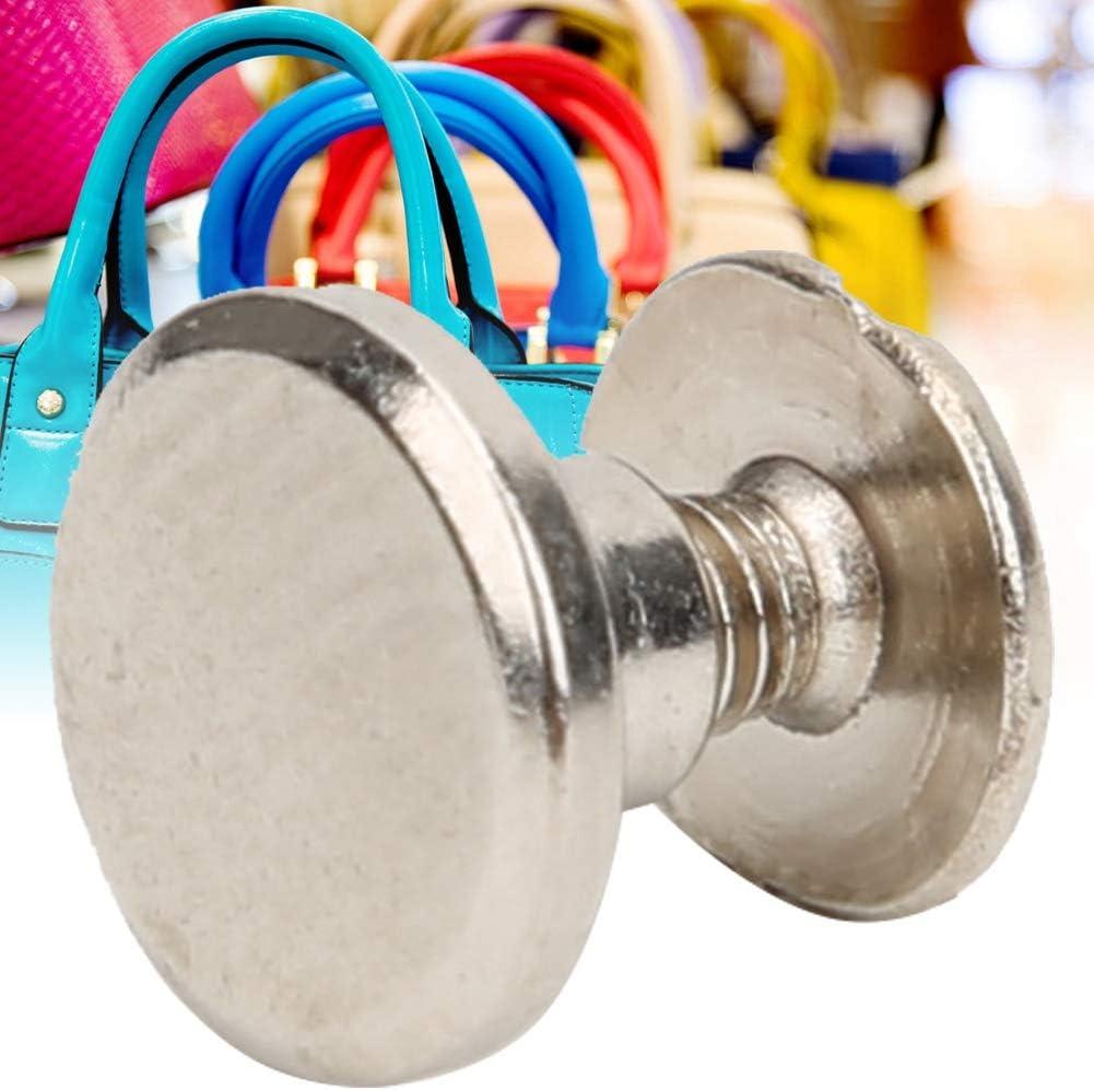 goujons /à t/ête plate en laiton goujons /à t/ête plate filet/és en laiton durables pour sac /à main portefeuille sac /à main d/écoration de bo/îtier de t/él/éph 20 ensembles de rivets en cuir