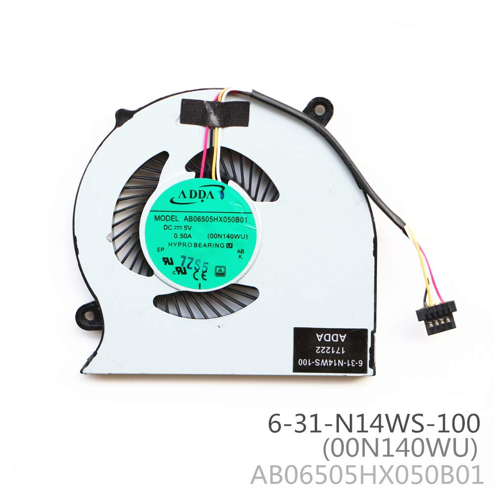 Cooler 6-31-N13WS-101 para Clevo N130WU N130WS N131WS N131WU N140WU N141WU 4Pin