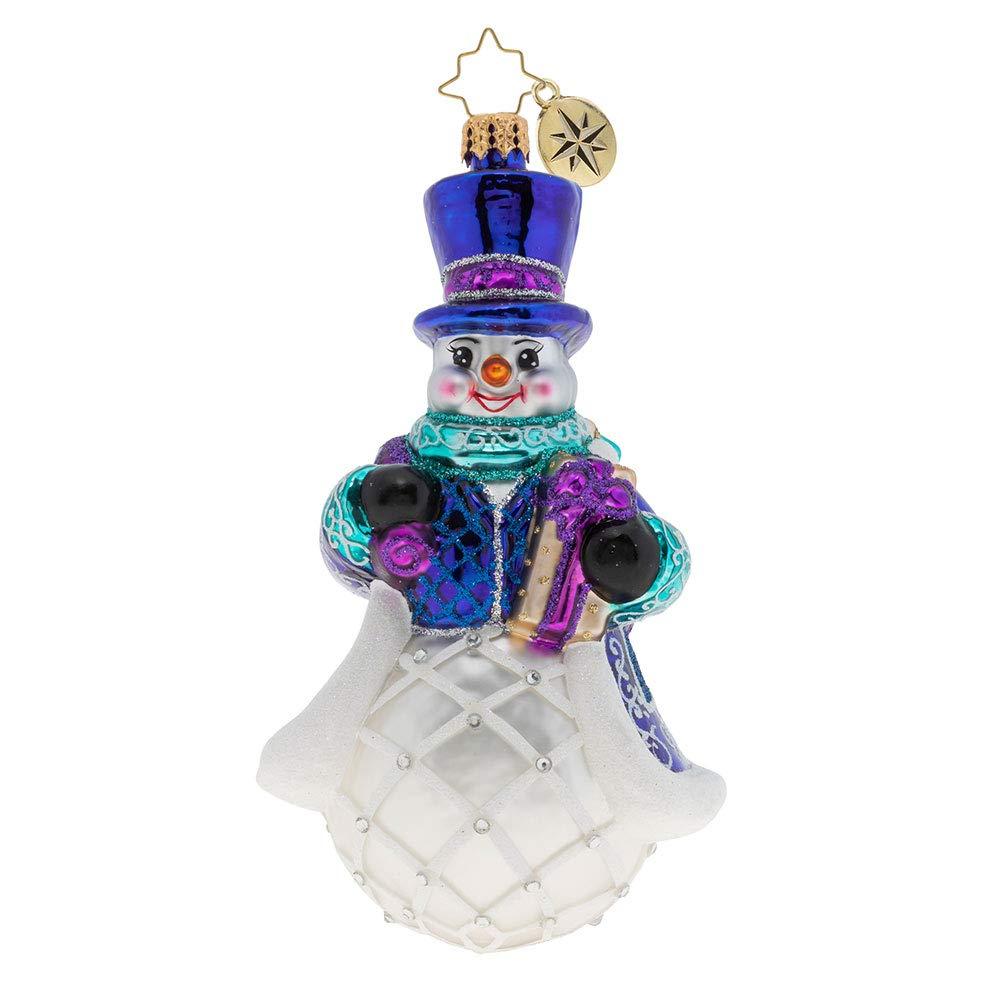 Christopher Radko Christmas Morning Delivery! Christmas Ornament