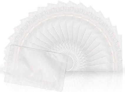 10000 Tüten  Druckverschlussbeutel  50µ  80 x 120 mm  transparent  ZIP BaG