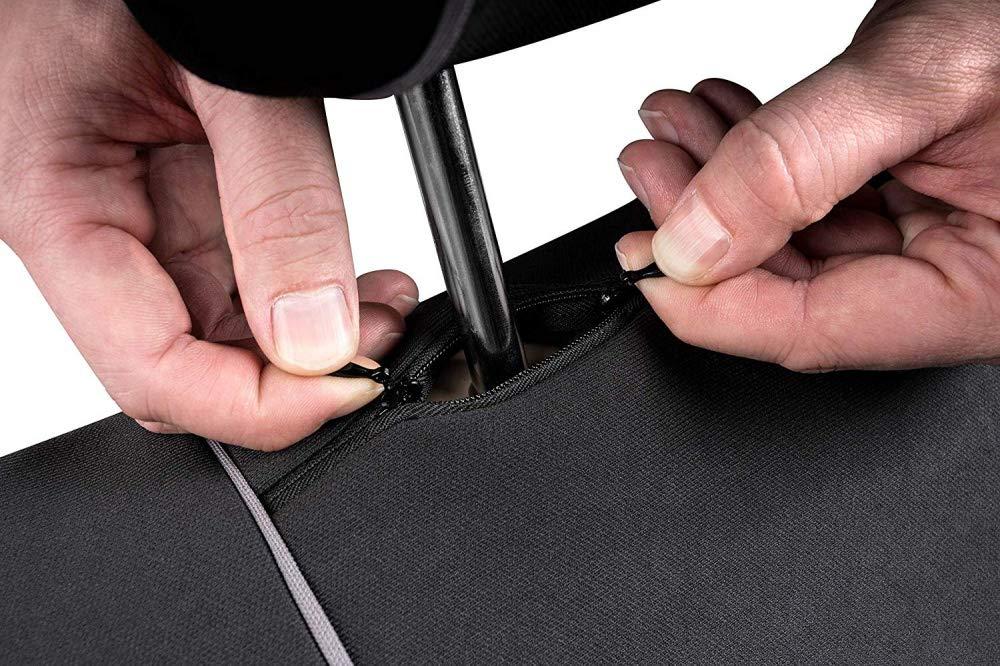 sedili Posteriori sdoppiabili Colore Nero Grigio R18S0804 rmg-distribuzione Coprisedili per Tivoli Versione compatibili con sedili con airbag bracciolo Laterale 2015 - in Poi