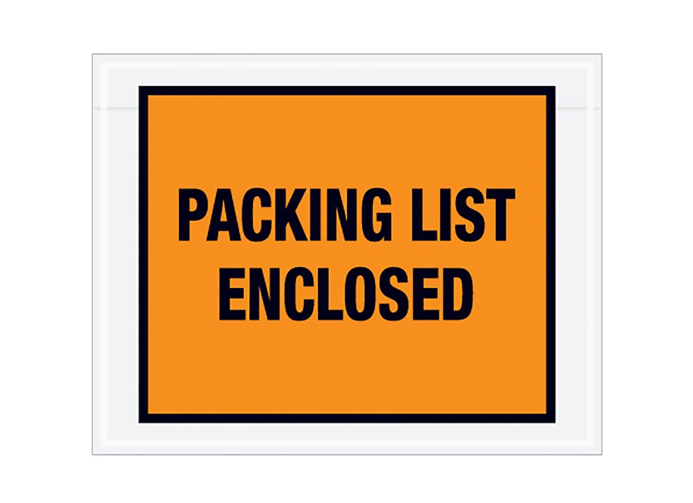 Full Face Orange Pack of 500 RetailSource E050401OF500 Packing List Enclosed 5.5 x 4.5 x 1 Envelopes 5.5 x 4.5 x 1