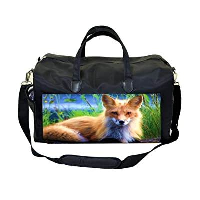 Baby Fox Painting Weekender Bag