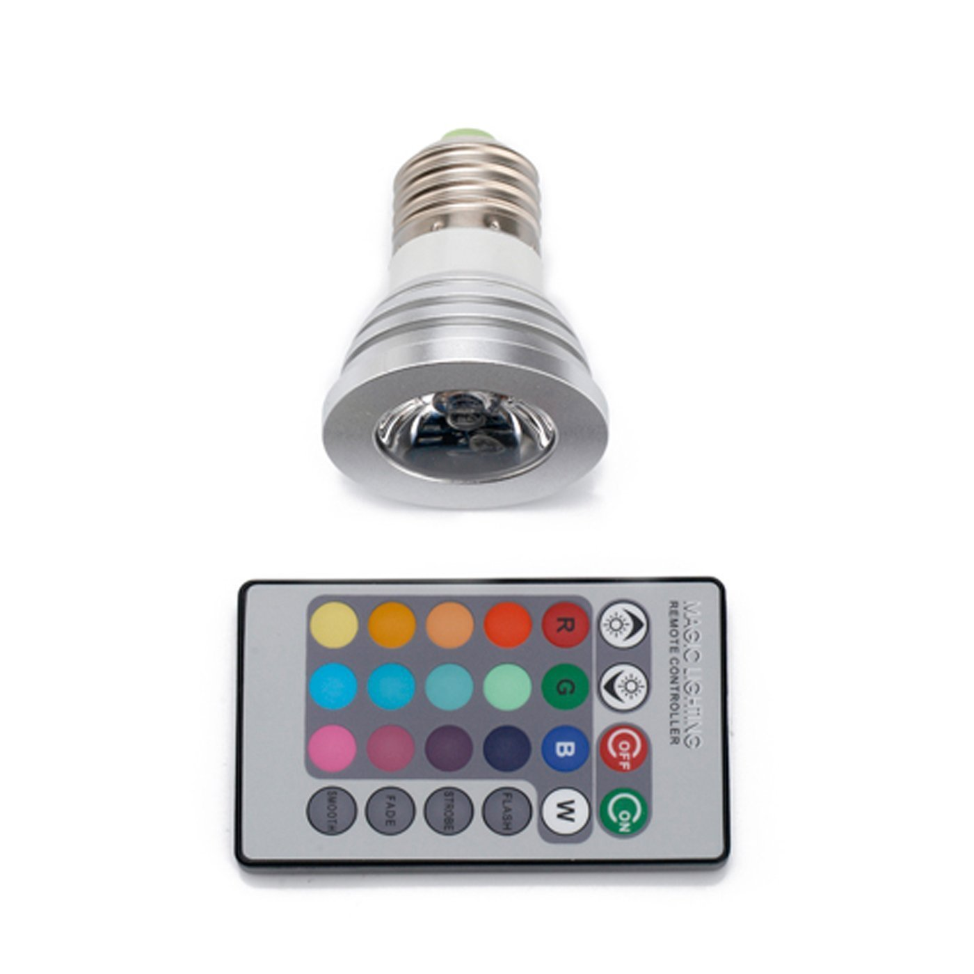 eaglelight color changing led light bulb and remote