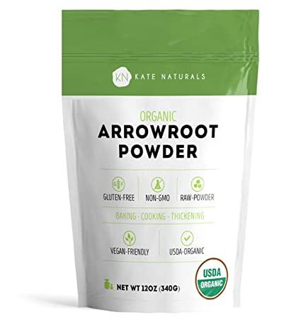 Arrowroot Flour Organic - Kate Naturals. Perfecto para ...