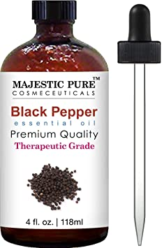 Majestic Pure Black Pepper Essential Oil