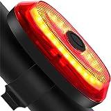 テールライト 自転車用 G keni セーフティーライト 高輝度 自動点滅 自動消灯 ブレーキランプ 長時間連続点灯 USB充電式 IP65防水 ロードバイク マウンテンバイク リアライト 夜間走行の視認性をアピール