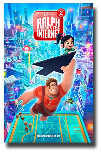 Price comparison product image Ralph Breaks The Internet Poster Movie Promo 11 x 17 inches Wreck-It 2 Flying Cursor