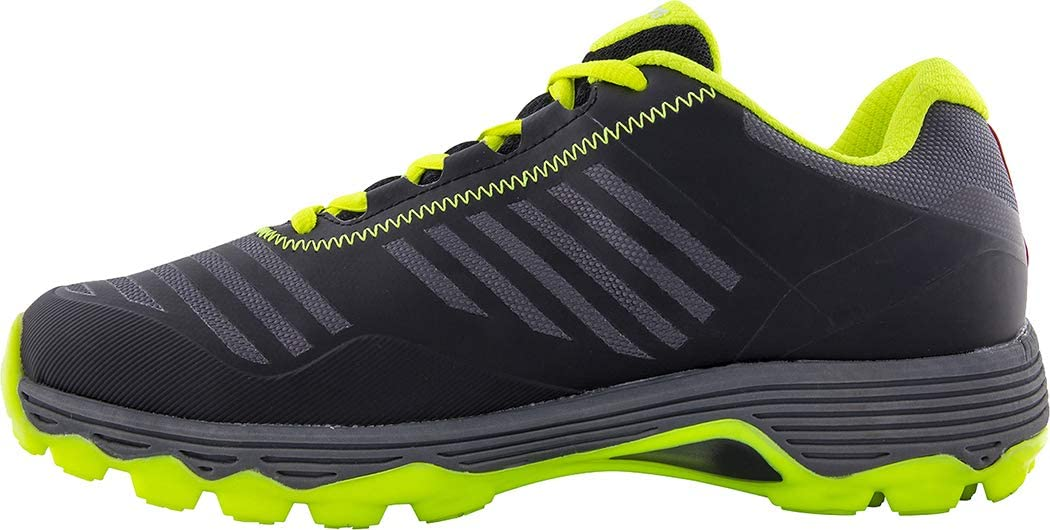 Black//Fluo Yellow New for 2019 Grays Burner Rubber Hockey Shoes