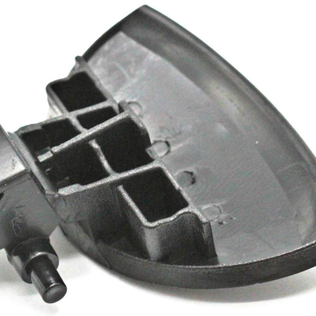 yanana Negro Caja guantera pl/¨/¢Stico Tapa de la guantera Mango Resorte de Repuesto para Citroen C4