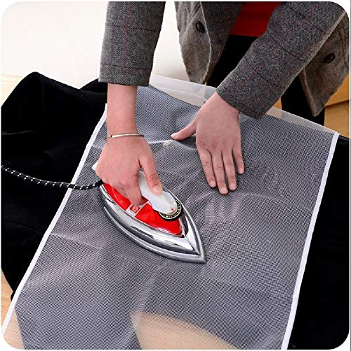 Ironing Board Cover 90x40cm High Temperature Ironing Cloth Household Protective Insulation Against Pressing Pad Boards Mesh Cloth
