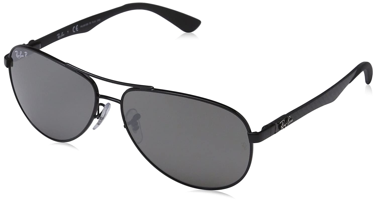 323e2997cca4a Amazon.com  Ray-Ban Men s 0Rb8313 Aviator Sunglasses  Clothing