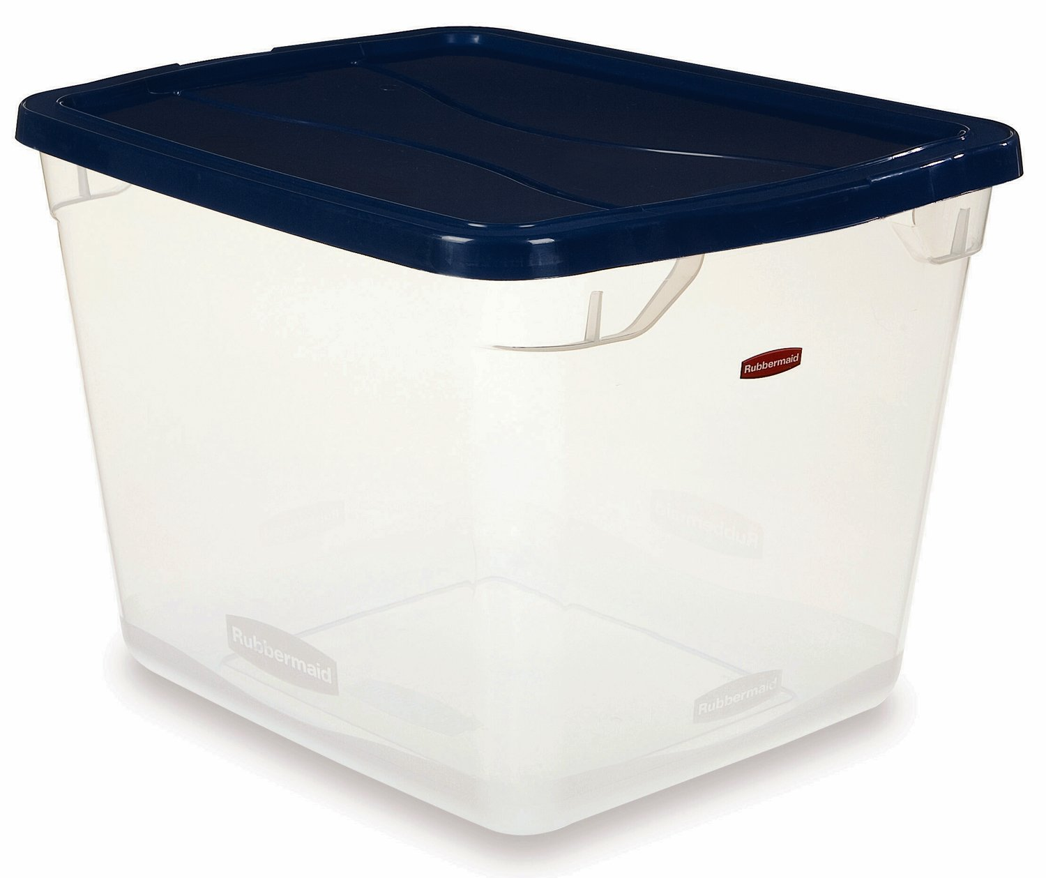 Rubbermaid INC 3Q2700CLRCB Clever Store Storage Container 30 Qt. (Pack of 8) by Rubbermaid