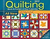 img - for Quilting Block & Pattern-a-Day 2017 Calendar book / textbook / text book