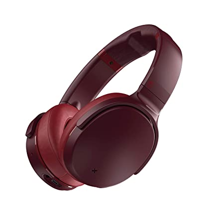 Skullcandy Venue Active Noise Cancelling Wireless Bluetooth Headphones – Moab Red