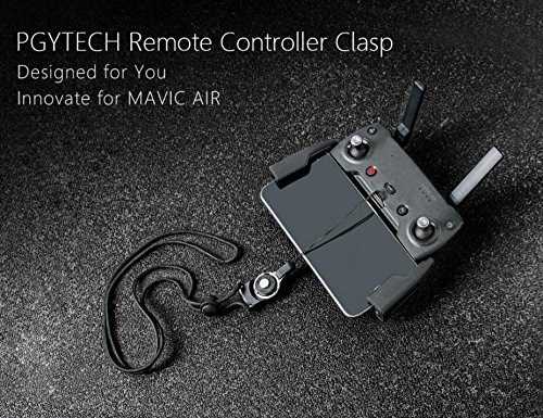 Remote Controller Clasp for DJI Mavic AIR , Length of the Lanyard Is Adjustable , Neck Sling Specially Designed for Mavic AIR Drone Accessories by H-shopping