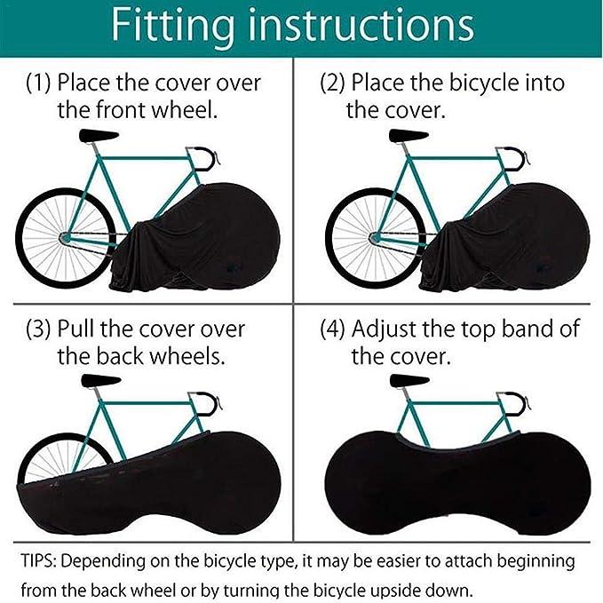 LUCKYX Funda Bicicleta Impermeable Anti UV Cubierta para Bici ...