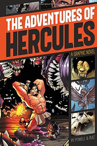 The Adventures of Hercules (Graphic Revolve: Common Core Editions)