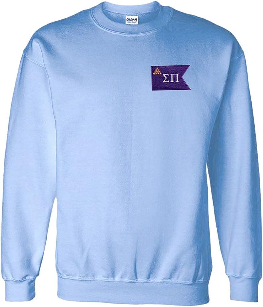 Sigma Pi Flag Patch Crewneck Sweatshirt