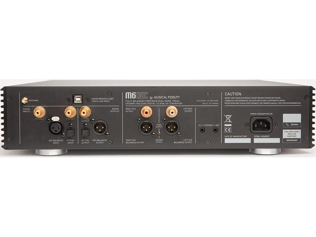Amazon.com: Musical Fidelity - M6DAC - Digital to Analog Converter ...