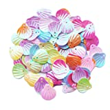 ZIJING 300 pcs Cute Adroable Mix Color Sea Shell