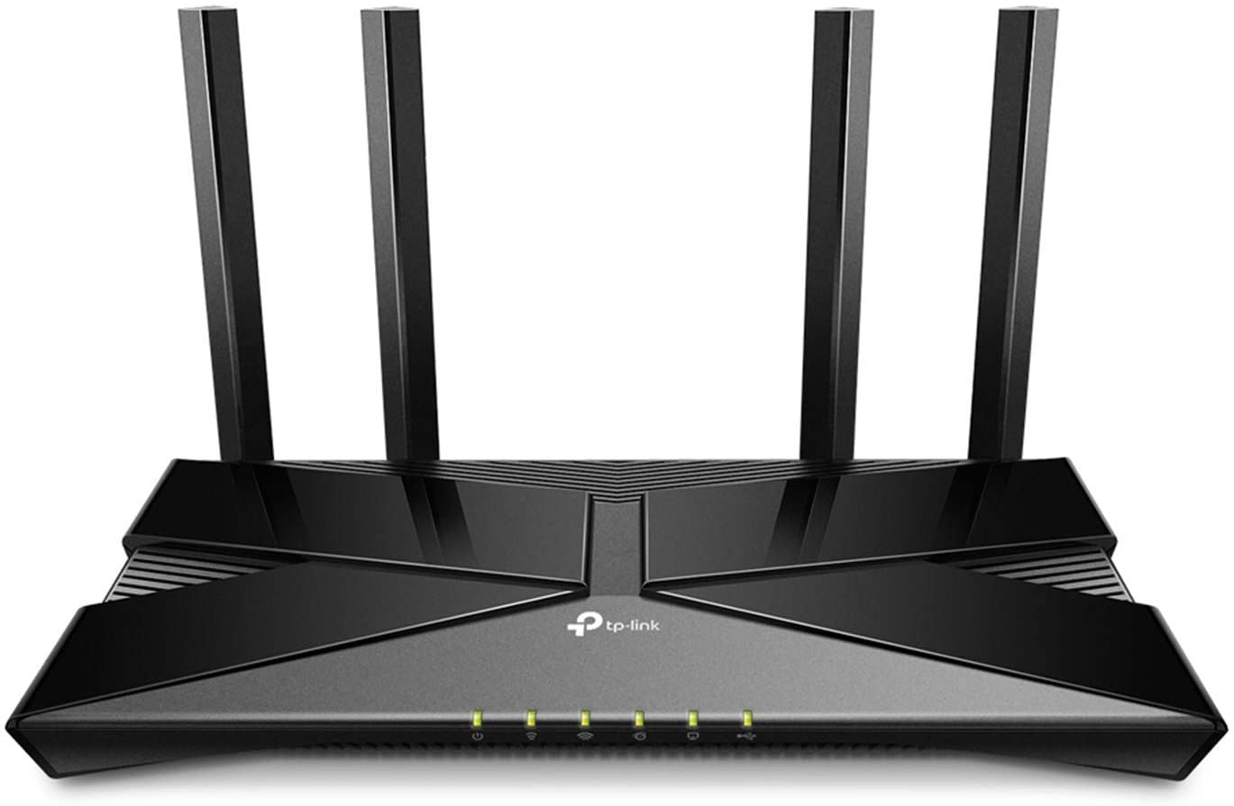 TP-Link Wifi 6 AX1500 Smart WiFi Router – 802.11ax Router, 4 Gigabit LAN Ports, Dual Band AX Router,Beamforming,OFDMA, MU-MIMO, Parental Controls, Works with Alexa(Archer AX10)