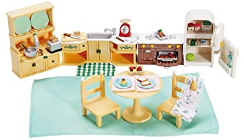 Amazon Calico Critters Deluxe Kozy Kitchen Set Toys Games