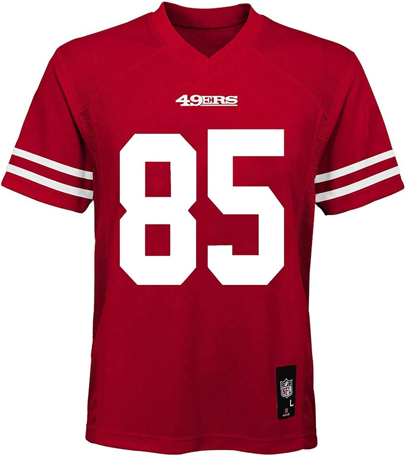 George Kittle San Francisco 49ers Toddler #85 Red Home Mid-Tier Jersey
