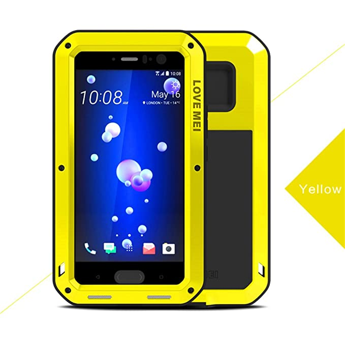 buy online 8422b 24e14 Amazon.com: HTC U11 Waterproof Case, Hwota Shockproof Waterproof ...