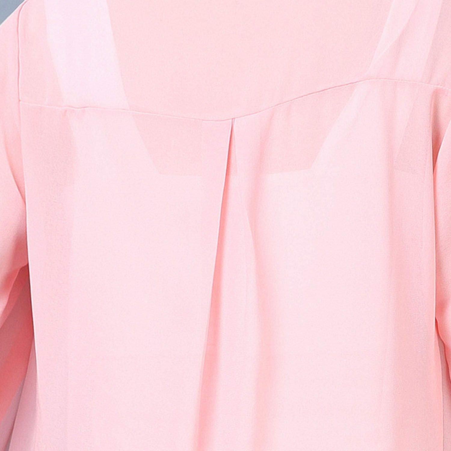 pursuit-of-self Women Summer Coat Sun Protection Clothing Solid Casual Loose Long Chiffon Cardigan