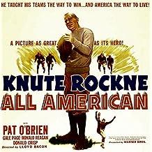 Knute Rockne All American Pat O'Brien 1940 Movie Poster Masterprint (24 x 36)