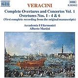 Veracini: Overtures Nos. 1,2,3,4, & 6