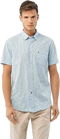 Salsa Camisa fit Slim de algodón: Amazon.es: Ropa y accesorios