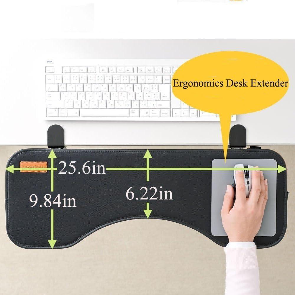 Soporte reposamuñecas para teclado ergonómico Yanghx con ...