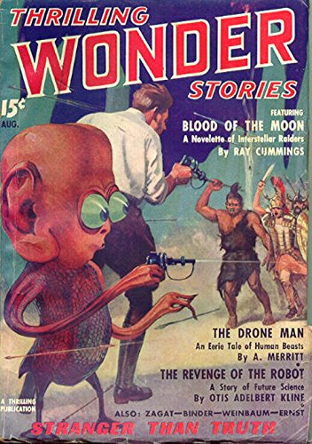 Thrilling Wonder Stories, August 1936