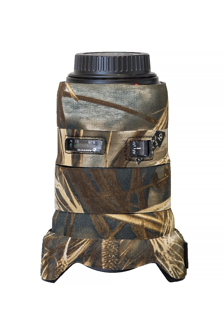 LensCoat Camera Cover Canon 16-35 III F2.8, Camouflage Neoprene Camera Lens Protection Sleeve (Realtree Max4) lenscoat