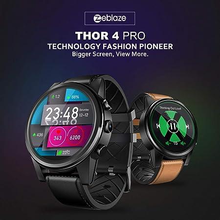 Amazon.com: Gift for Him,Zeblaze Smartwatches THOR4 Pro ...