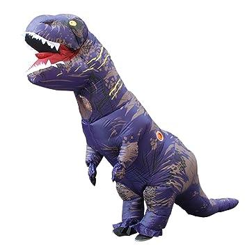 SHUFEI Disfraz Hinchable De Dragón Adulto,T-Rex-Cosply ...