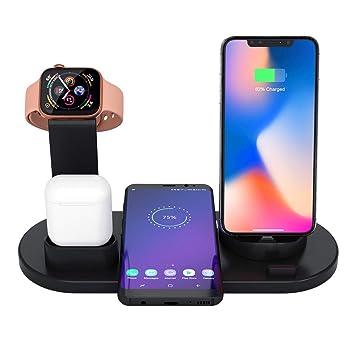 Amazon.com: Soporte de carga para Apple Watch, 4 en 1 ...