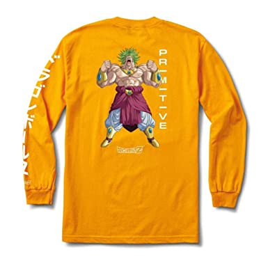 527a8afc30b Amazon.com: Primitive Skate x Dragon Ball Z Long Sleeve Graphic T Shirts  Collection for Men: Clothing
