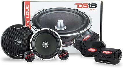 "2X DS18 EXL-SQ6.9 Car Audio 560W EXL Series 6/""x9/"" 2-Way Coaxial Speakers"