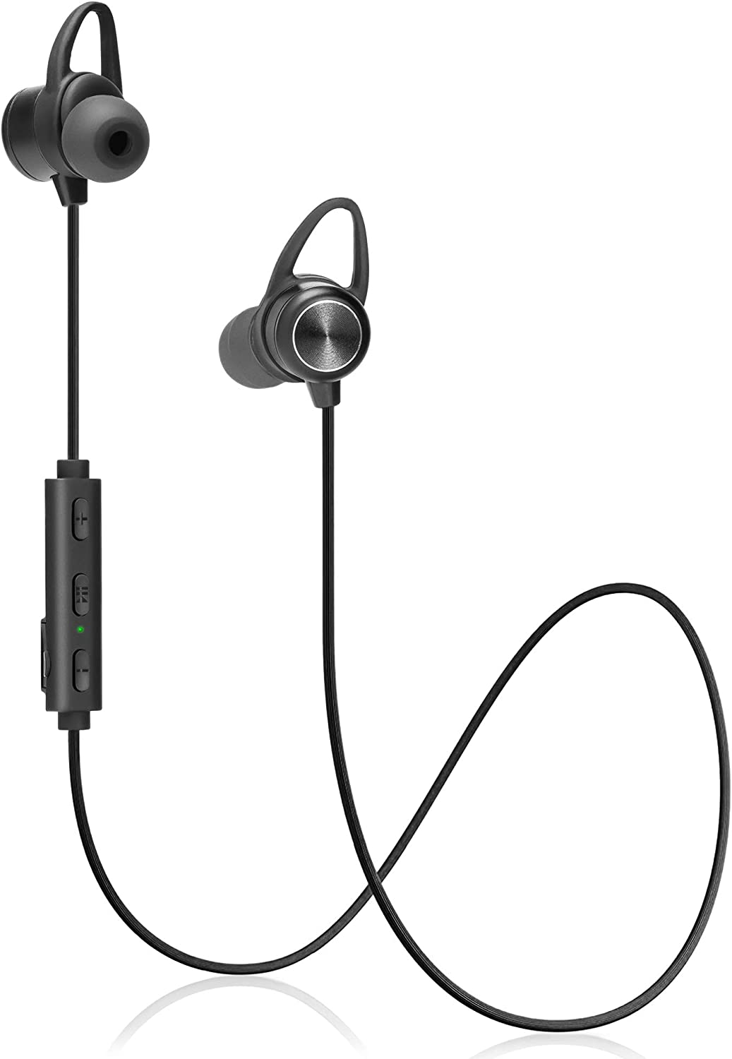 Sports Wireless Earbuds Bluetooth Headphones – 9 Hours Playtime HD IPX7 Bluetooth Earbuds – Best Headphones for Running – Stereo Sound Ear Buds Wireless Noise Cancelling Headphones with Microphone