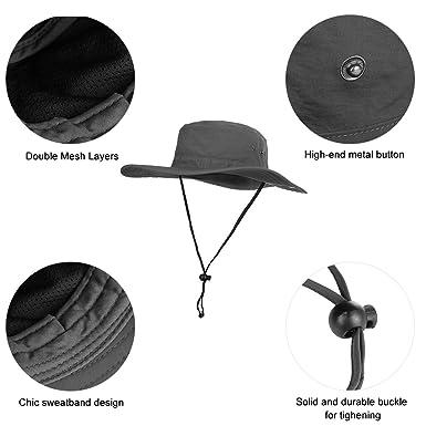 Vbiger Cappello da Pescatore Cappelli Estivi Cappello da Sole per Outdoor   Amazon.it  Abbigliamento 73432c63a750